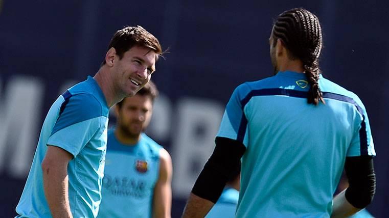 Pinto mandó un mensaje a Messi