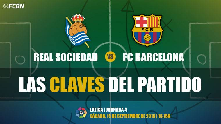 Las claves del Real Sociedad-FC Barcelona de LaLiga 2018-19