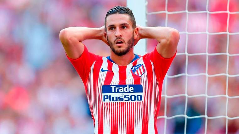 El Atlético de Madrid se salva sobre la bocina de un desastre contra el Eibar (1-1)