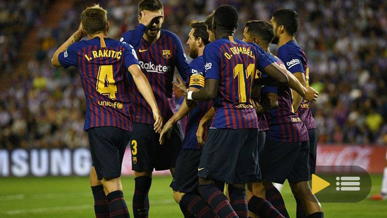 Vídeo resumen: Real Sociedad 1 FC Barcelona 2 (LaLiga J4)