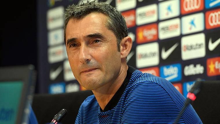 """Valverde admite que el Barça debe mejorar, pero señala: """"En estos partidos se ganan ligas"""""""