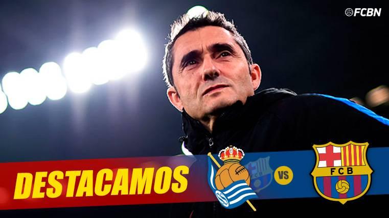 Ni Pep, ni Tito ni Luis Enrique: El Barça encuentra el remedio para Anoeta con Valverde