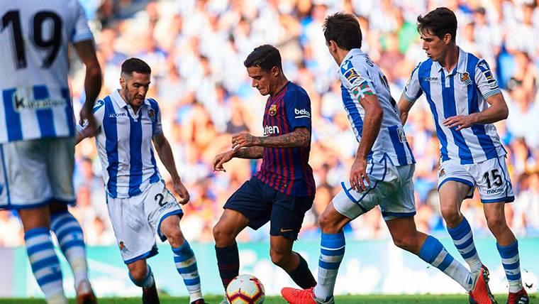 Philippe Coutinho, el jugador clave en el centro del campo