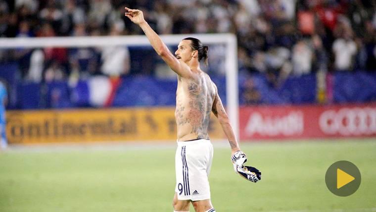 BRUTAL: Ibrahimovic marca su gol 500 con una acrobacia imposible