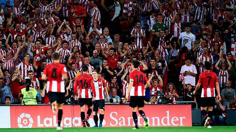 El Athletic lanza una pulla a LaLiga por su parcialidad ante el Madrid