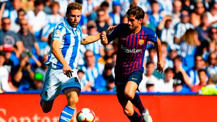 La desesperación del Barça: Illarramendi mereció tarjeta roja y se quedó con amarilla