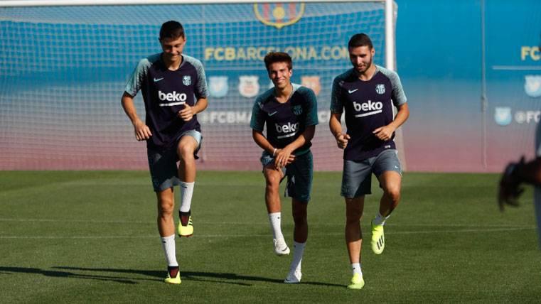 El Barça protege a sus canteranos por los problemas con el salto de categoría