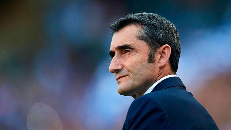 Ernesto Valverde explica la falta de minutos de los fichajes