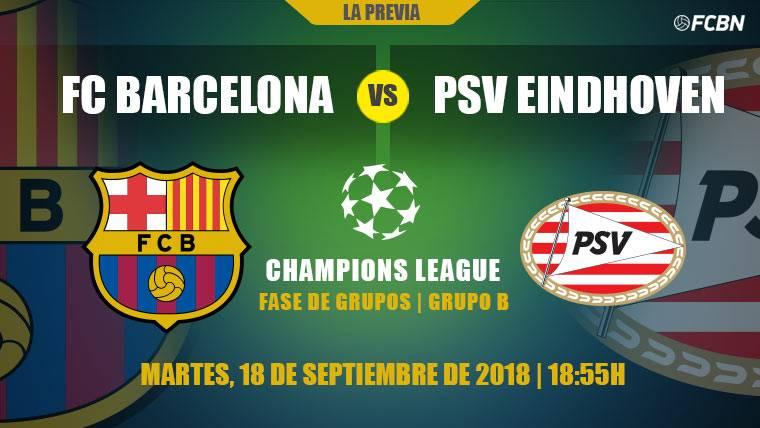 El Barça comienza su asalto a la Champions League contra el PSV