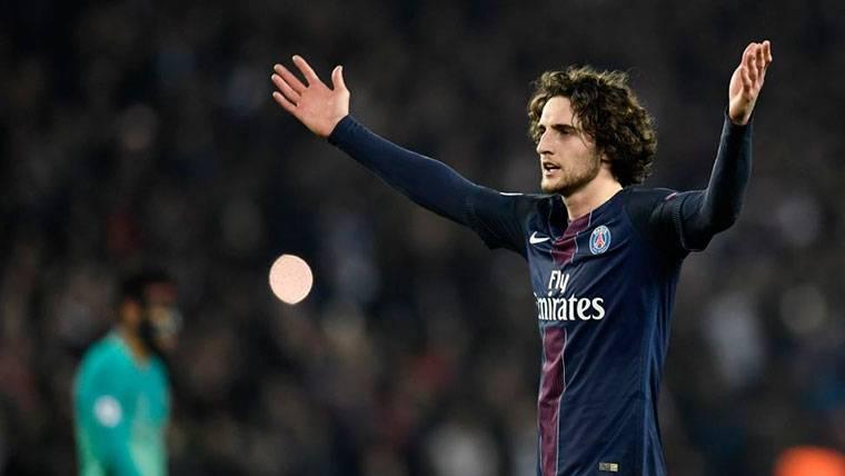 Posibilidad real: Adrien Rabiot puede llegar al Barça en enero