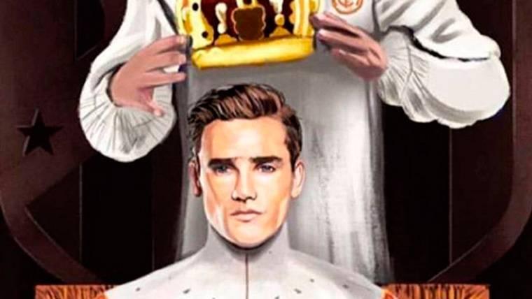 Griezmann recibe la 'venganza' de Ramos por la coronación