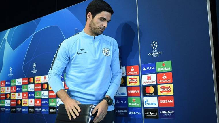Guardiola no acude a la rueda de prensa de Champions League