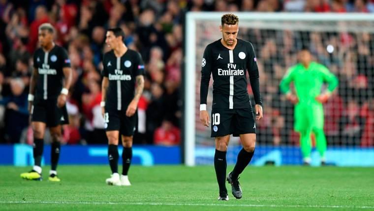 La prensa francesa critica duramente a Neymar y el PSG tras su derrota en Champions