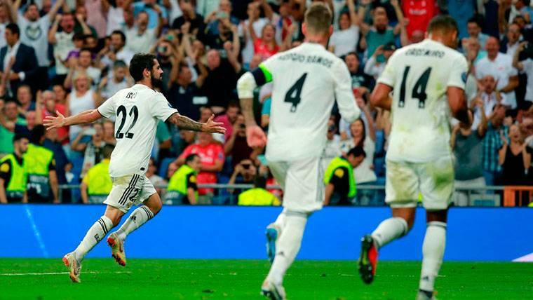 El Madrid pasa por encima de la Roma en su estreno europeo (3-0)