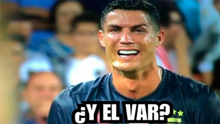 Estos son los mejores 'memes' de la expulsión de Cristiano Ronaldo