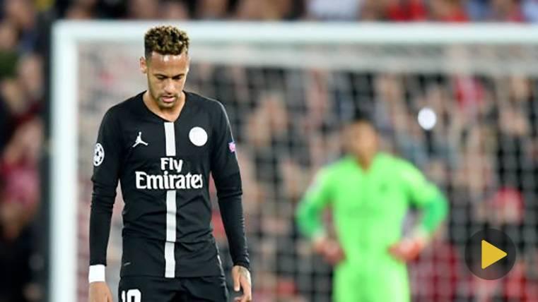 HUMILLACIÓN: Sadio Mané da a Neymar de su propia medicina