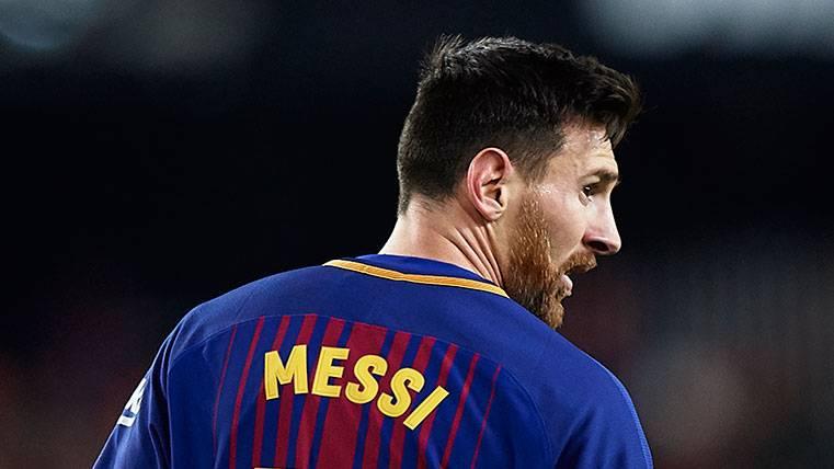 Las rotaciones de Valverde con Messi en la temporada 2018-19