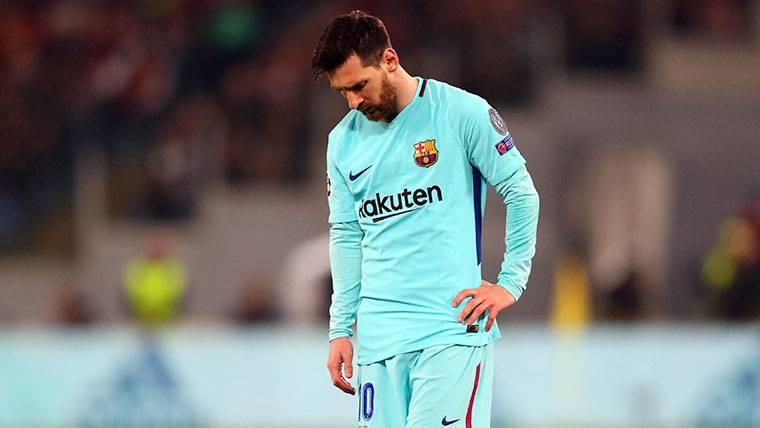 En Madrid intentan gafar el 'hat-trick' de Leo Messi para estrenar la Champions