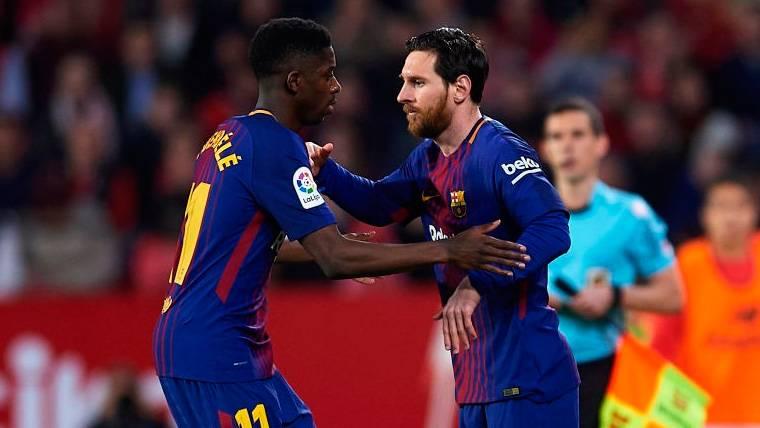 Messi, nominado al Jugador de la Semana en Champions; Dembélé, al Mejor Gol