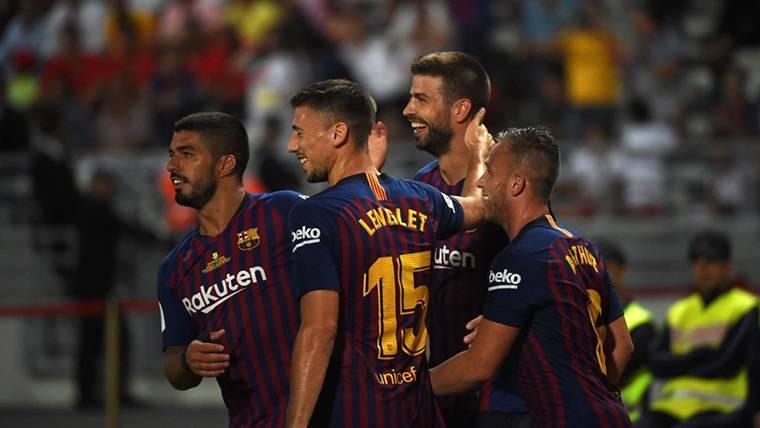 Lenglet será novedad en las próximas alineaciones del Barça