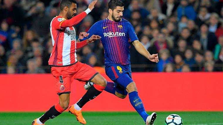 KILLER: A Luis Suárez no se le da nada mal el Girona en LaLiga