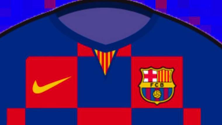 Más detalles sobre la equipación del FC Barcelona 2019-20