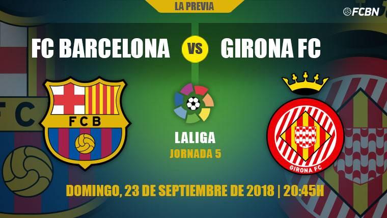 Un Barça con rotaciones dobles quiere mantener el liderato de LaLiga contra el Girona