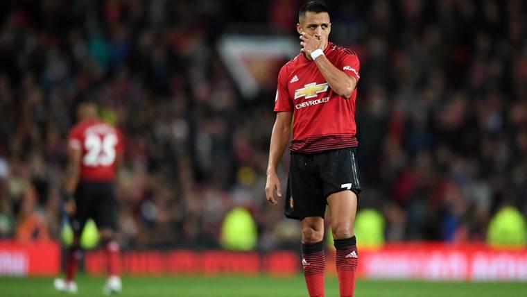 Alexis Sánchez no es ni la sombra de lo que fue en Barça y Arsenal