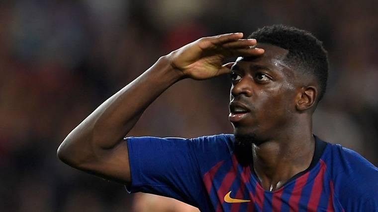 Dembélé ridiculiza a quienes decían que no es un hombre gol