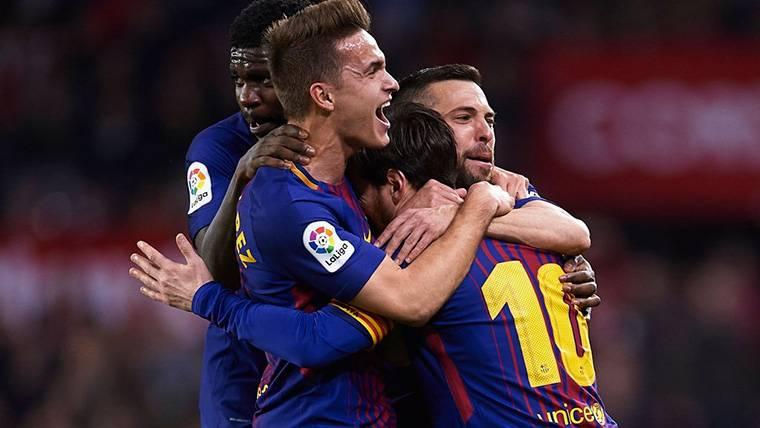 Felicidad de Denis Suárez por volver a una lista del Barça