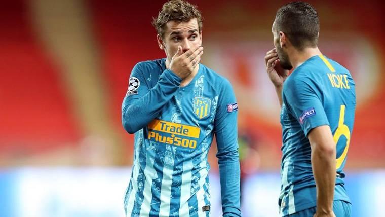"""Griezmann, a lo suyo: """"No me arrepiento de no ir al Barça"""""""