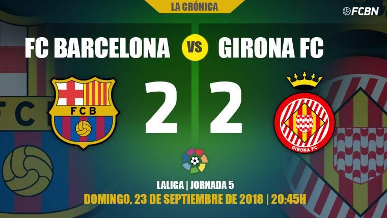El VAR y el Girona obligan al Barça a sufrir para mantener el liderato de Liga (2-2)