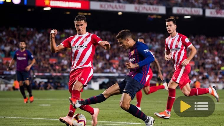 Vídeo resumen: FC Barcelona 2 Girona 2 (LaLiga J5)