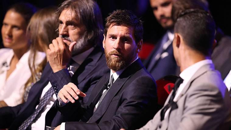 Ausencia de Messi en el FIFA 'The Best' por un problema familiar