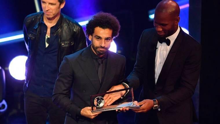 Mohamed Salah ganó un Premio Puskás que apunta a consolación