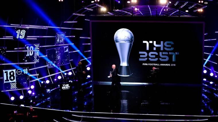 Estos son todos los ganadores de los premios FIFA The Best 2018