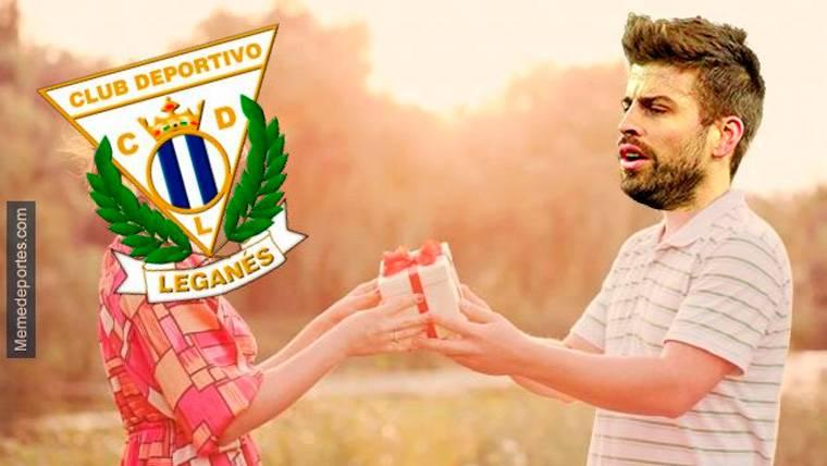 Estos son los mejores 'memes' del Leganés-FC Barcelona