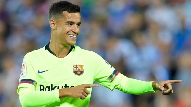 La buena noticia para el Barça en Leganés: Coutinho está preparado para ser un líder