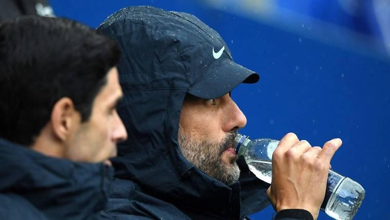 Guardiola desvela su enfado con un jugador del Manchester City