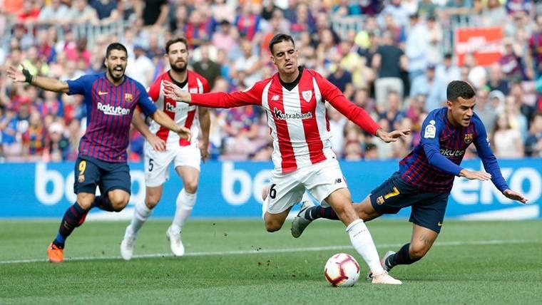 Primera polémica del Barça-Athletic: ¿Penalti a Coutinho?