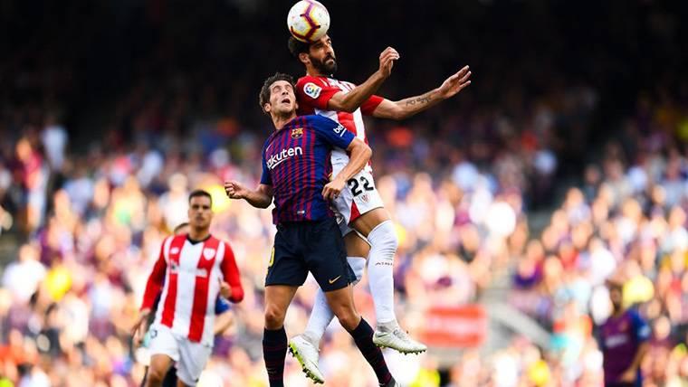 ALARMA: Sergi Roberto se lesiona y será baja contra el Tottenham