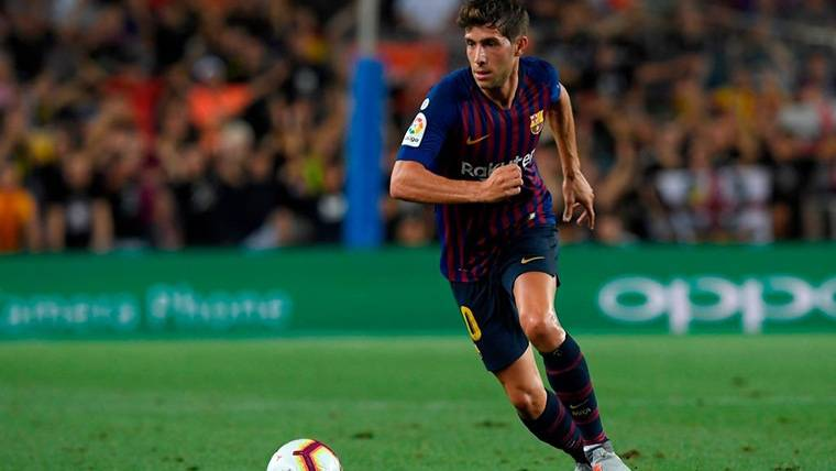 Comunicado del FC Barcelona sobre la lesión de Sergi Roberto