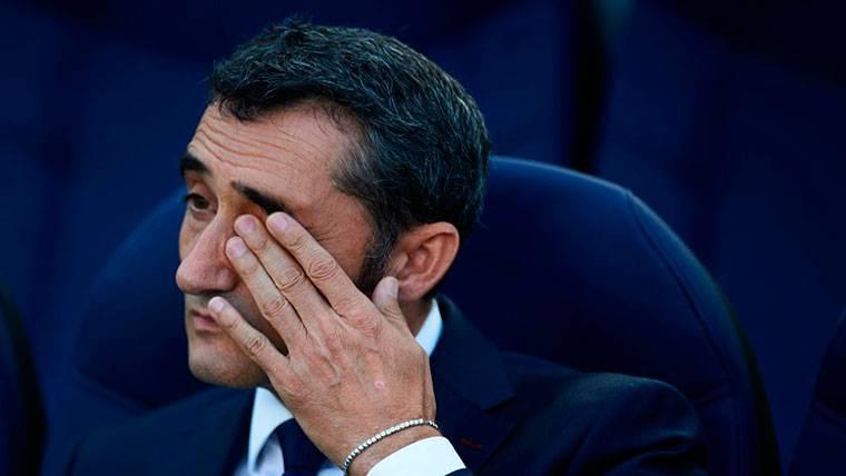Resultado de imagen para Ernesto Valverde triste