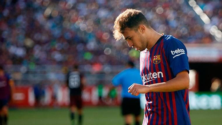Munir, el único de la segunda unidad del Barça que pisa fuerte