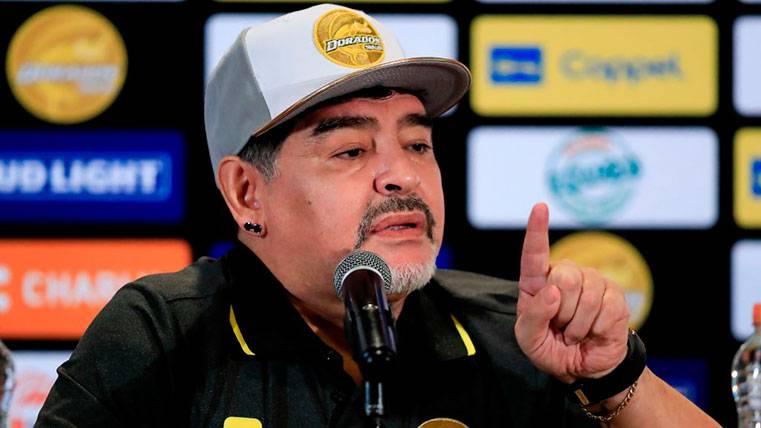 Maradona estalla contra los que criticaron a Messi por el Mundial