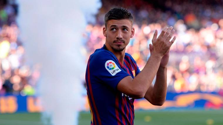 Las confesiones de Clément Lenglet: Impresionado con el FC Barcelona