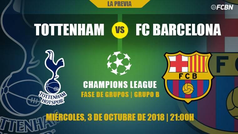Barcelona visitará al Tottenham