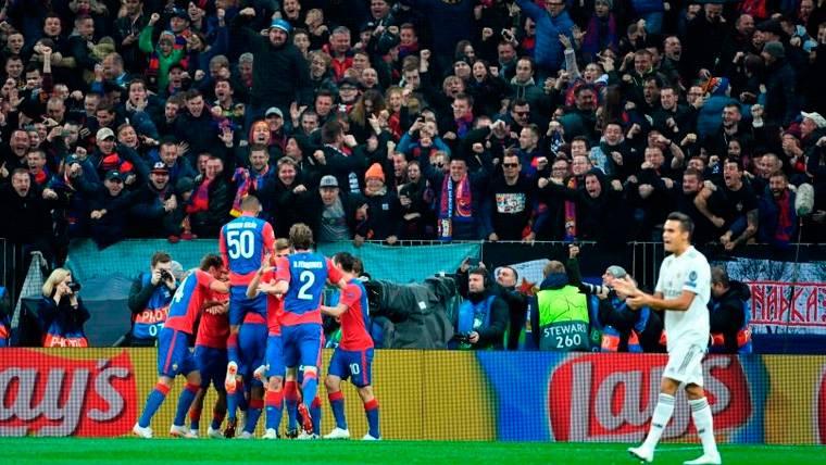 El CSKA de Moscú y los palos congelan al Real Madrid en Champions (1-0)