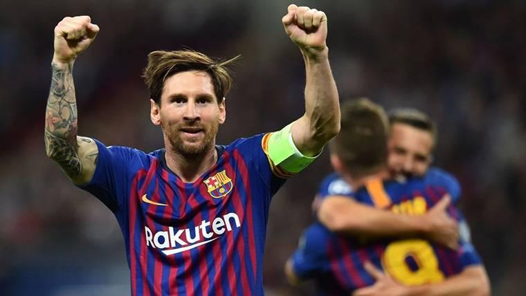 Llamó dos veces y luego derribó la puerta: Golazo de Messi al Tottenham en Champions