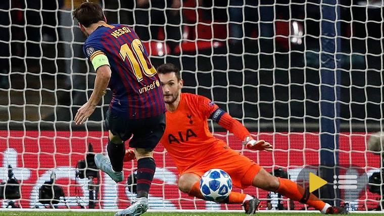 Vídeo resumen: Tottenham 2 FC Barcelona 4 (Champions)